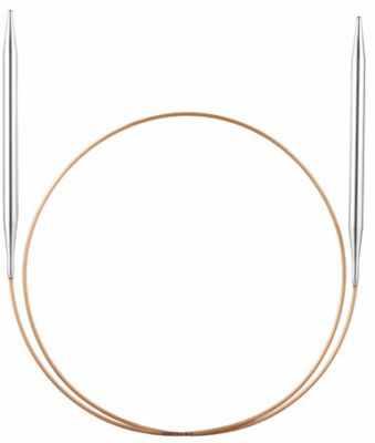 Инструмент для вязания ADDI 108-7/3-200 Спицы, круговые, супергладкие, экстрадлинные, латунь, №3, 200 см