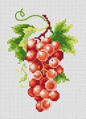 Набор для вышивания Каролинка МКН 02-14 Гроздь винограда - набор (Каролинка)