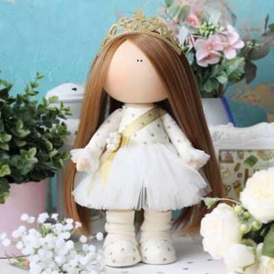 Набор для изготовления игрушки Арт ткани NB-097 Королева Грейс