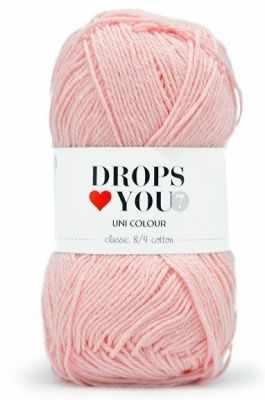 Пряжа DROPS Пряжа DROPS Love You 7 Цвет.14 light pink