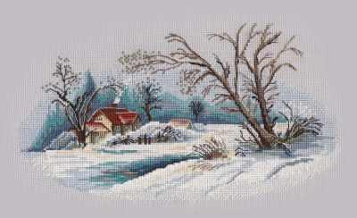 1300 Зимний пейзаж (Овен)