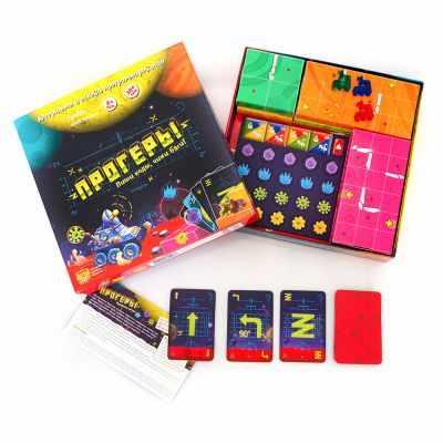 Игра Банда умников Прогеры (настольно-печатная игра ТМ «Банда умников»)