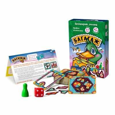 цена на Игра Банда умников Багагаж (настольно-печатная игра ТМ «Банда умников»)