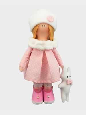 Набор для изготовления игрушки Pugovka Doll Набор Инесса, 25 см