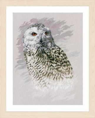 Набор для вышивания Lanarte PN-0183826 Snowy Owl (Lanarte)