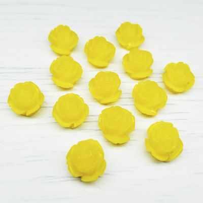 Каталог Хрустальные грани РА003НН10 Розы пришивные, цвет Желтый