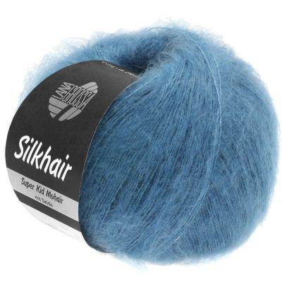 Пряжа LANA GROSSA SILKHAIR Цвет. 103 инструмент для вязания lana grossa спицы круговые lana grossa латунь 60 см 3 5