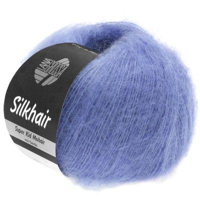 Пряжа LANA GROSSA SILKHAIR Цвет. 116 инструмент для вязания lana grossa спицы круговые lana grossa латунь 60 см 3 5