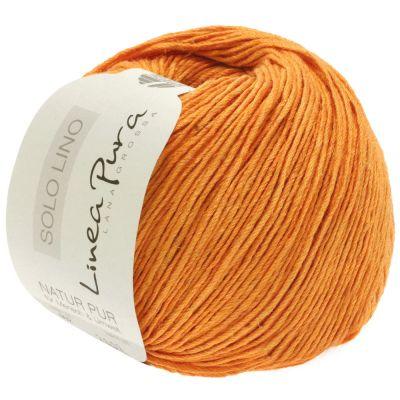 Пряжа LANA GROSSA SOLO LINO Цвет.025 инструмент для вязания lana grossa спицы круговые lana grossa латунь 60 см 3 5