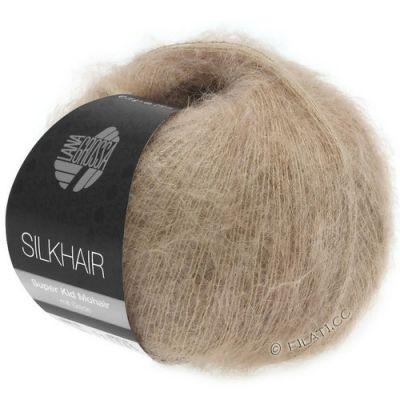 Пряжа LANA GROSSA SILKHAIR Цвет.123 инструмент для вязания lana grossa спицы круговые lana grossa латунь 60 см 3 5