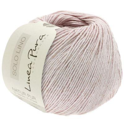 Пряжа LANA GROSSA SOLO LINO Цвет.038 инструмент для вязания lana grossa спицы круговые lana grossa латунь 60 см 3 5