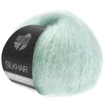 Пряжа LANA GROSSA SILKHAIR Цвет. 134 инструмент для вязания lana grossa спицы круговые lana grossa латунь 60 см 3 5