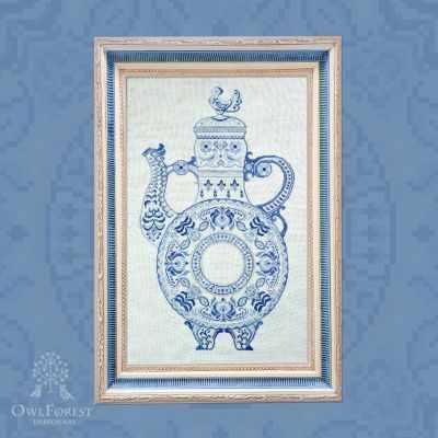 Набор для вышивания OwlForest 0077-КВ-Н-3Bf Квасник
