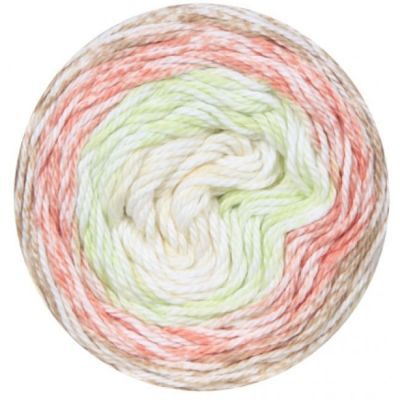 Пряжа Fibra Natura Пряжа Fibra Natura Cotton royal color waves Цвет.22-02