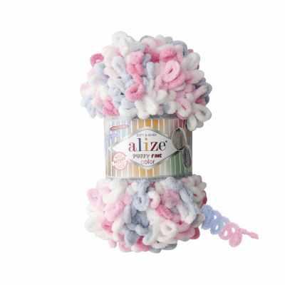 Пряжа Alize Пряжа Alize PUFFY FINE COLOR Цвет.5945