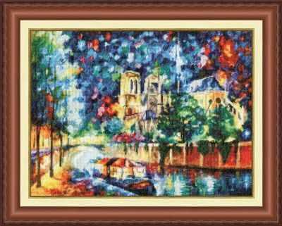 Фото - Набор для вышивания Золотое Руно ГМ-043 Вечерний париж набор для вышивания золотое руно гм 037 булгаковская осень