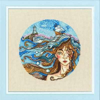 Набор для вышивания Золотое Руно Ф-038 Мечты о море