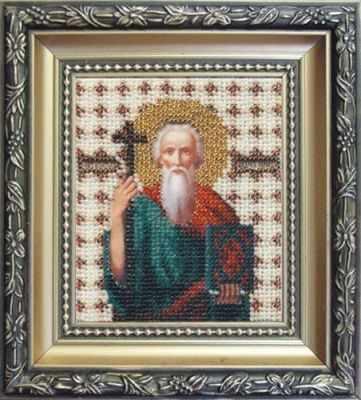 """Б-1031 """"Икона святой апостол Андрей Первозванный"""""""