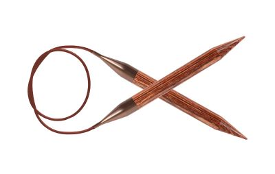 Инструмент для вязания Knit Pro 31093 Спицы круговые 6.00 mm - 80 cm Ginger KnitPro