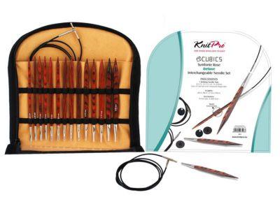Инструмент для вязания Knit Pro 25613 Набор деревянных съемных спиц