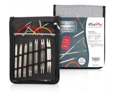 Инструмент для вязания Knit Pro 12361 Набор съёмных спиц Nova Cubics KnitPro