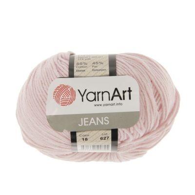 Пряжа YarnArt Пряжа YarnArt Jeans Цвет.18