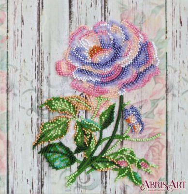 Фото - Набор для вышивания Абрис Арт АМВ-063 Чайная роза роза вышивка
