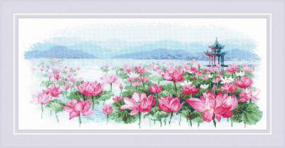 "1869 ""Поле лотосов, Пагода на воде"""
