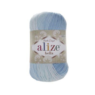 Пряжа Alize Пряжа Alize Bella Batik Цвет.2130 Голубой меланж