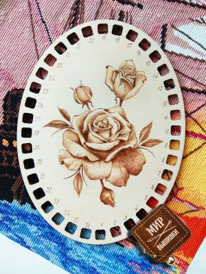 Фото - Органайзер - Органайзер. Роза с бутонами роза вышивка