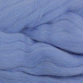 Пряжа Пехорка Пряжа Пехорка Шерсть для валяния полутонкая Цвет.520 Голубая пролеска