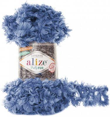 Пряжа Alize Пряжа Alize Puffy Fur Цвет.6116