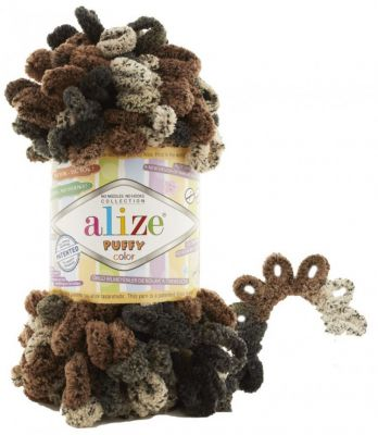 Пряжа Alize Пряжа Alize PUFFY COLOR Цвет.6083