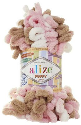 Пряжа Alize Пряжа Alize PUFFY COLOR Цвет.6046