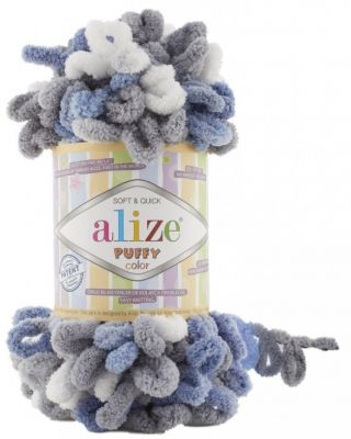Пряжа Alize Пряжа Alize PUFFY COLOR Цвет.6075