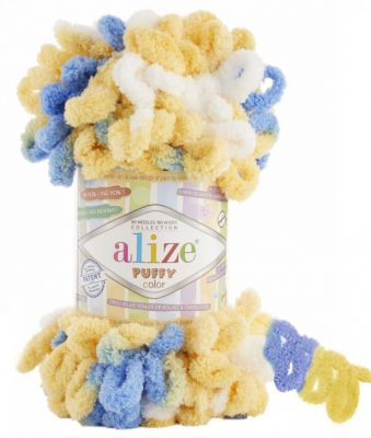 Пряжа Alize Пряжа Alize PUFFY COLOR Цвет.6069