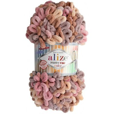 Пряжа Alize Пряжа Alize PUFFY FINE COLOR Цвет.6033