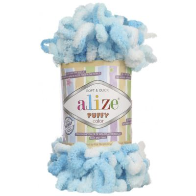 Пряжа Alize Пряжа Alize PUFFY COLOR Цвет.5924