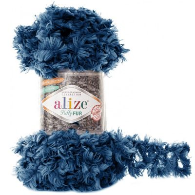 Пряжа Alize Пряжа Alize Puffy Fur Цвет.6114