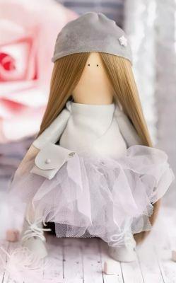 Набор для изготовления игрушки Арт Узор 2564783 Интерьерная кукла «Патти», набор для шитья