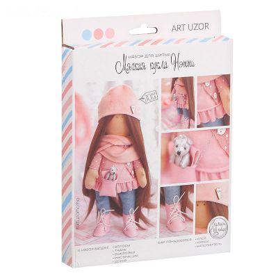 Набор для изготовления игрушки Арт Узор 2278769 Интерьерная кукла «Нэтти», набор для шитья