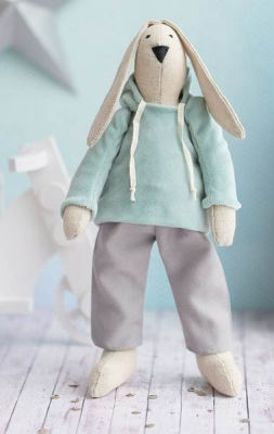 Набор для изготовления игрушки Арт Узор 2564773 Мягкая игрушка «Домашний зайка Банни», набор для шитья