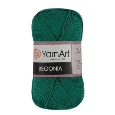 Пряжа YarnArt Begonia Цвет.6334 Изумрудный