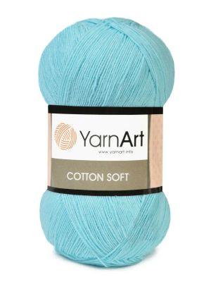 Пряжа YarnArt Пряжа YarnArt Cotton Soft Цвет.76 Айсберг