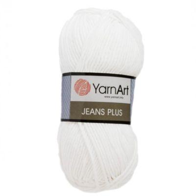 Пряжа YarnArt Пряжа YarnArt Jeans Plus Цвет.01