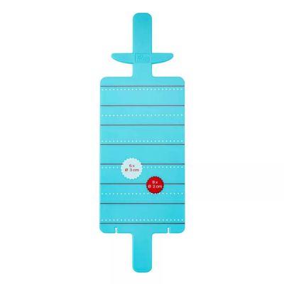 Аксессуар для вязания PRYM 624192 Устройство для изгот. мини-помпонов пластик в пакете 3 см, 2 см инструмент для вязания 1215370 набор приспособлений для изготовления помпонов микс