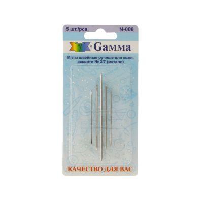 Игла Gamma Иглы для кожи №3/7 N-008 в блистере 5 шт. P