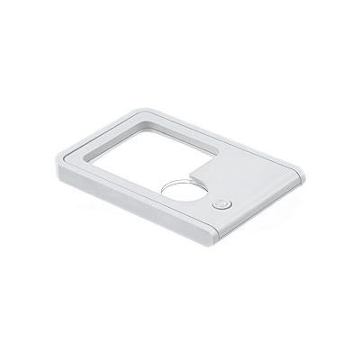 Лампы и лупы - FR-13 Карманная лупа с подсветкой в картонной упаковке увеличение Х3, Х10 лупа ручная rexant 2х 6х 12 0408 с подсветкой