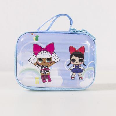 Заготовки и материалы для изготовления игрушки Pugovka Doll Чемодан, голубой
