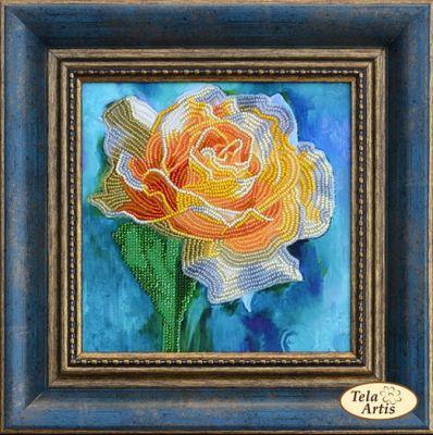 Фото - Набор для вышивания Tela Artis НВ-007- Желтая роза - набор (Tela Artis) роза вышивка